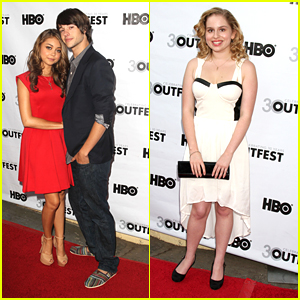 Sarah Hyland & Allie Grant: Outfest 2012 Gets 'Struck By Lightning'
