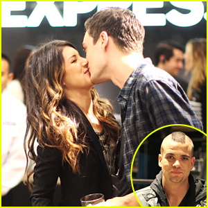Shenae Grimes &#038; Josh Beech: Vancouver Express Kisses!