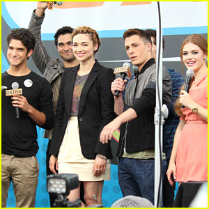 Teen Wolf: Comic-Con 'Extra' Interview
