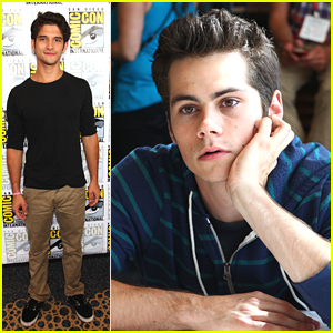 Tyler Posey & Dylan O'Brien: 'Teen Wolf' Q&A at Comic Con 2012