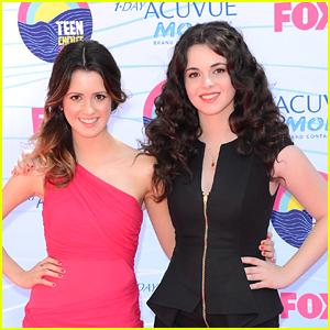 Vanessa & Laura Marano - Teen Choice Awards 2012