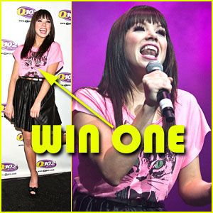 Win a FREE Modern Lux Tee -- Just Like Carly Rae Jepsen!