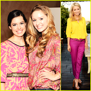 Greer Grammer & Alex Frnka: 'Live in Pink' Party Pair