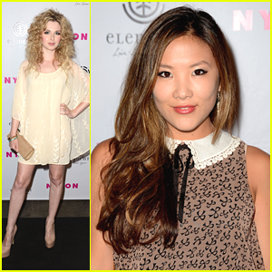 Ally Maki &#038; Kirsten Prout: Nylon Party Pair