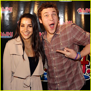 Aly Raisman: Mix Lounge with Phillip Phillips