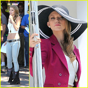 AnnaLynne McCord: Big Hat Beauty