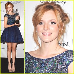 Bella Thorne Wins at Imagen Awards 2012