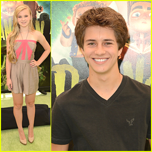 Sierra McCormick &#038; Billy Unger: 'ParaNorman' Pair