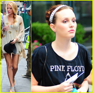 Blake Lively & Leighton Meester: 'Gossip Girl' BFFs