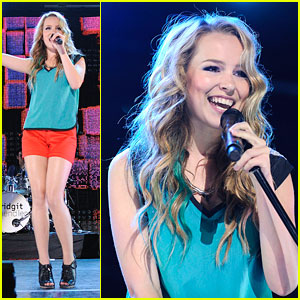 Bridgit Mendler: Toronto Concert Cutie