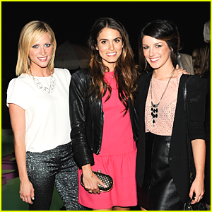 Nikki Reed 'Lives In Pink' with Brittany Snow & Shenae Grimes