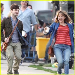 Daniel Radcliffe Films 'The F Word'
