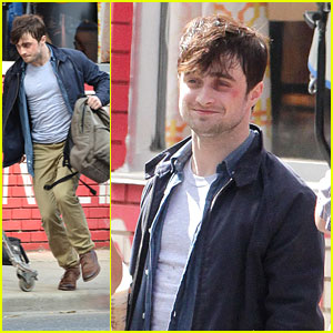 Daniel Radcliffe: Black Eye on 'F Word' Set
