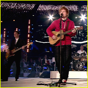 Ed Sheeran: 'Wish You Were Here' Performance at 2012 Olympics Closing Ceremony