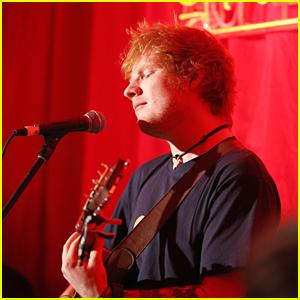 Ed Sheeran Performing at 2012 Olympics Closing Ceremony