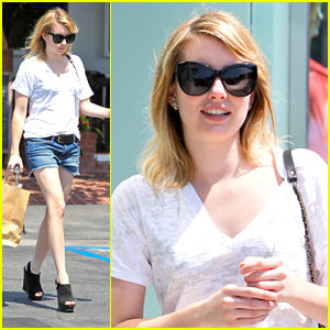 Emma Roberts: 'Pretty Amazing' Judging Video!