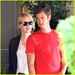 Emma Stone: Sunset Tower Lunch with Andrew Garfield
