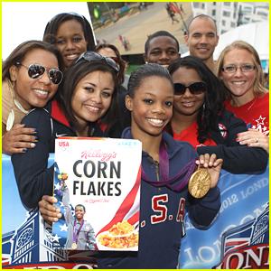 Gabrielle Douglas: New Face of Kellogg's Corn Flakes!