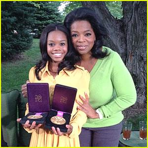 Gabrielle Douglas: 'Oprah's Next Chapter' First Look!