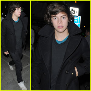Harry Styles: London Night Out!