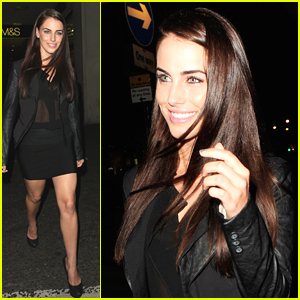 Jessica Lowndes: Back in London!
