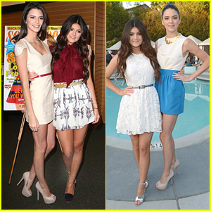 Kendall & Kylie Jenner: Seventeen Mag Signing!