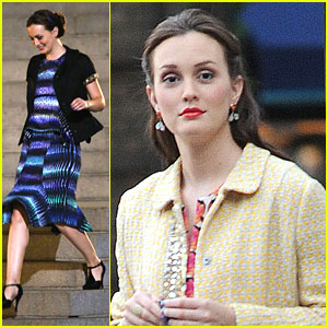 Leighton Meester: 'Gossip' at MOMA
