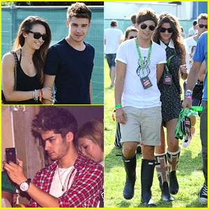 Louis Tomlinson & Liam Payne: V Festival with Eleanor & Danielle