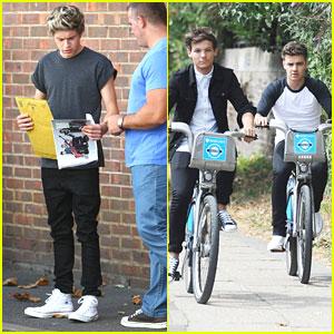 Louis Tomlinson & Liam Payne: Biking Boys