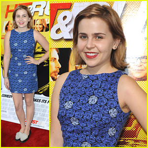 Mae Whitman Premieres 'Hit and Run'