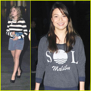 Miranda Cosgrove & Jennette McCurdy: Movie Night!