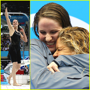 Missy Franklin Sets World Record at 2012 Olympics