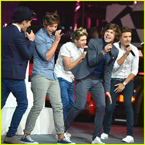 One Direction: 2012 Olympics Closing Ceremonies!