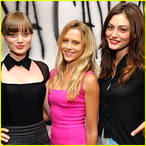Phoebe Tonkin & Teresa Palmer: GenArt Vena Cava Party People