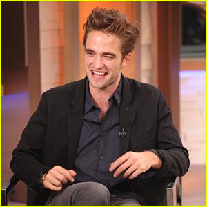 Robert Pattinson: Good Morning, America!