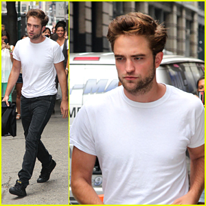 Robert Pattinson: 'Meet' The Press Day