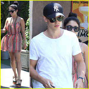 Vanessa Hudgens & Austin Butler: Post-Birthday Brunch!