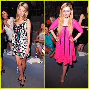 Abigail Breslin & Christian Serratos: Nanette Lepore Ladies
