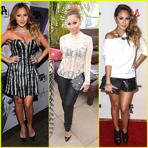 Adrienne Bailon: Sammi Sweetheart &#038; Abbey Dawn Shows
