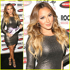 Adrienne Bailon: 'Roos' Fashion's Night Out Hostess