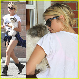 Ashley Benson: Snack Stop with Olive