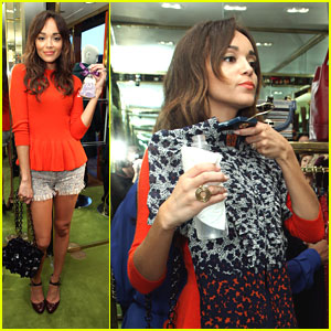 Ashley Madekwe: Fashion's Night Out with Tory Burch