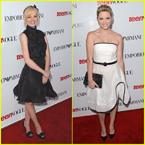 Ashley Rickards & Greer Grammer: Teen Vogue Young Hollywood Party