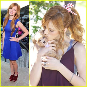 Bella Thorne: Kisses For Kingston!