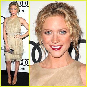 Brittany Snow: Audi Emmy Party Pretty