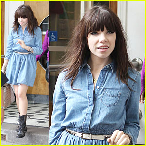 Carly Rae Jepsen: Live Lounge in London
