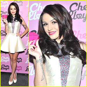 Cher Lloyd: 'Pink Diamond' Perfume Launch!