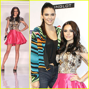 Cher Lloyd Performs at Tumbler & Tipsy Fashion Show