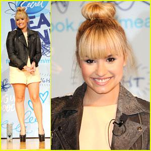 Demi Lovato: Mean Stinks Anti-Bullying Ambassador!