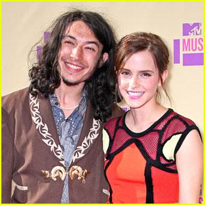 Emma Watson: MTV VMAs 2012 with Ezra Miller
